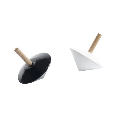 Sarah & Bendrix - spinning tops