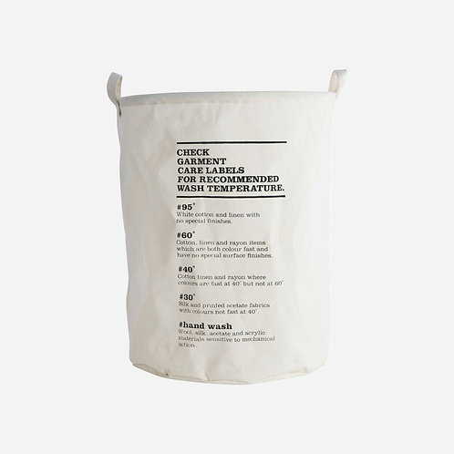 House Doctor - Laundry Bag - Wash Instructions