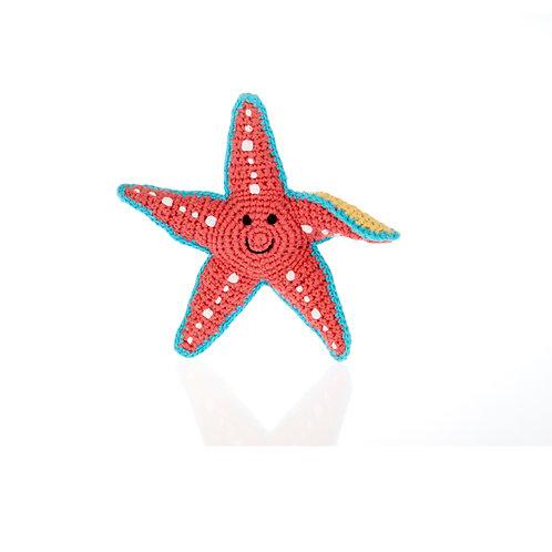 Pebble - Star Fish Rattle
