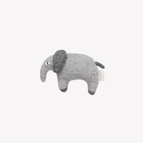 Main Sauvage - Elephant soft toy, grey