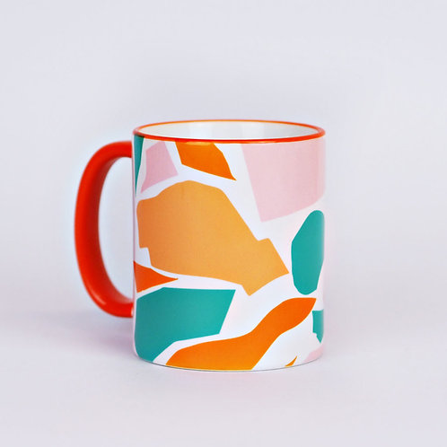 The Completist - Patchwork Mug - Mug