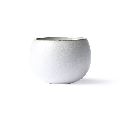 HK Living - kyoto ceramics: ball mug white