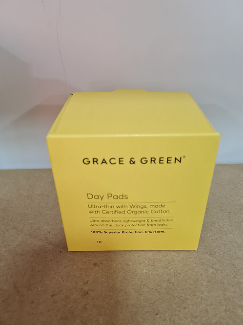 Grace and Green - Organic Day Pads with wings