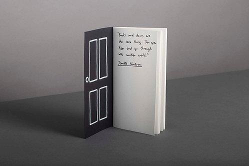 Griffics - A book is a door � notebook