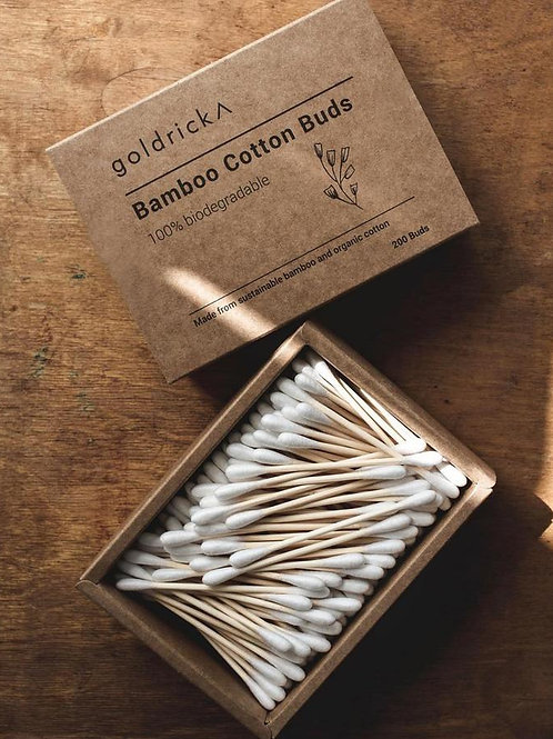 Goldrick - Bamboo Ear Buds