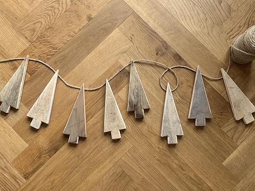 Handmade Christmas Tree Garland