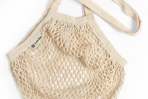 Turtle bags - STRING BAG- natural long