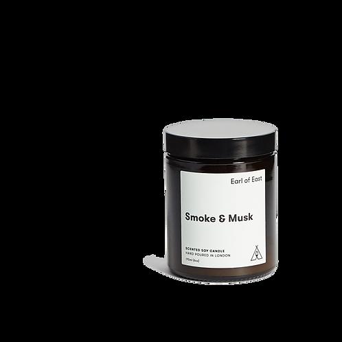 Earl of East - Smoke & Musk Candle 170ml