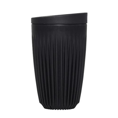 Huskee - 12oz Charcoal Cup with Lid