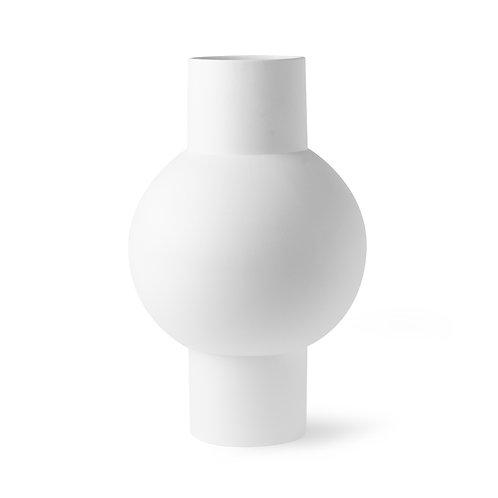HK Living - matt white vase m