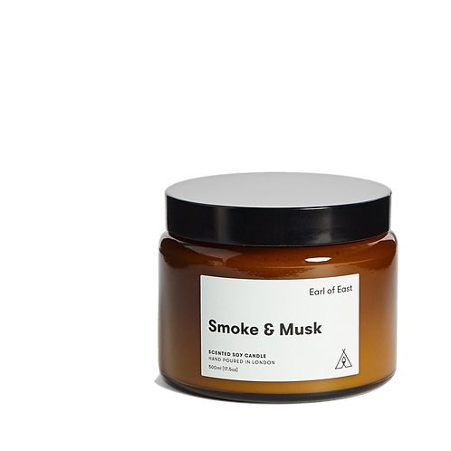 Earl of East - Smoke & Musk Candle 500ml