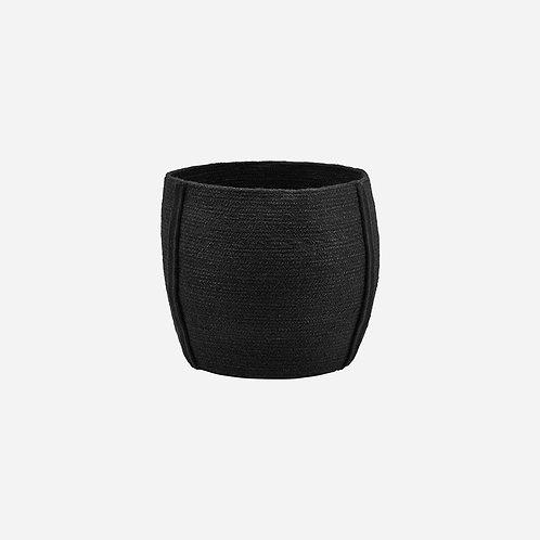 House Doctor - Basket Drum, Black