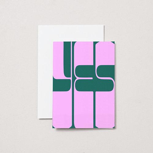Aisle Studio - Card - YES