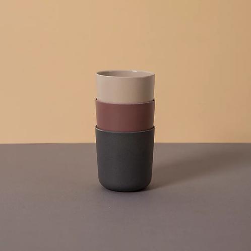 CINK - Mug 3-pack - Fog/Beet/Ocean