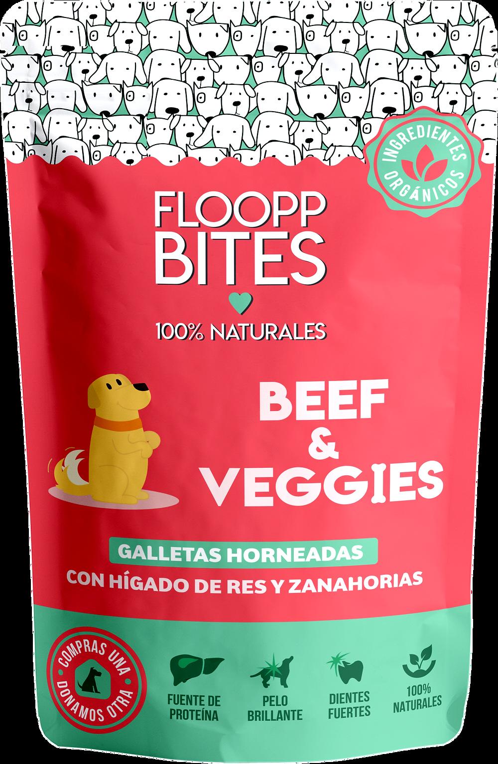 bolsa de galletas para perros caseras