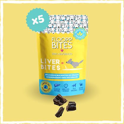 Liver Bites (5 x 40gr.)