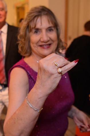 Our Raffle Winner Carol Church!