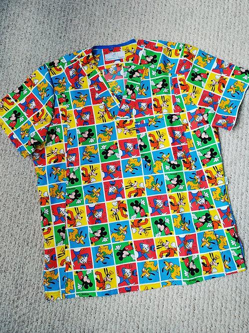Camisa Varón 1035 Mickey y Sus Amigos