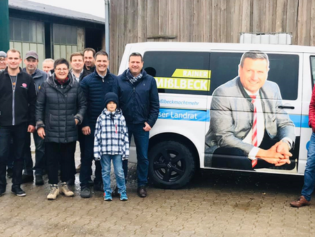 Hofbesichtigung bei Familie Graf in Hagenau