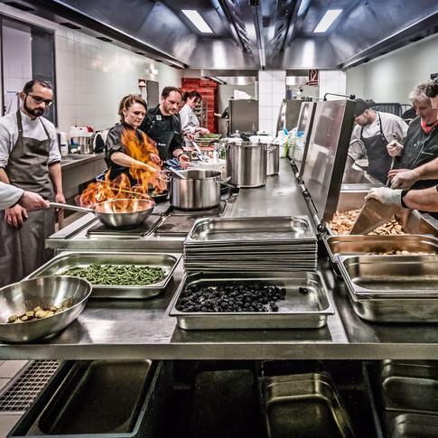 Warme Küche im DDV Stadion