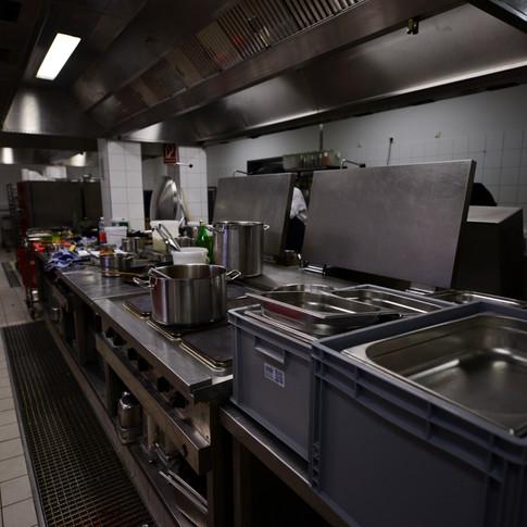 Warme Küche
