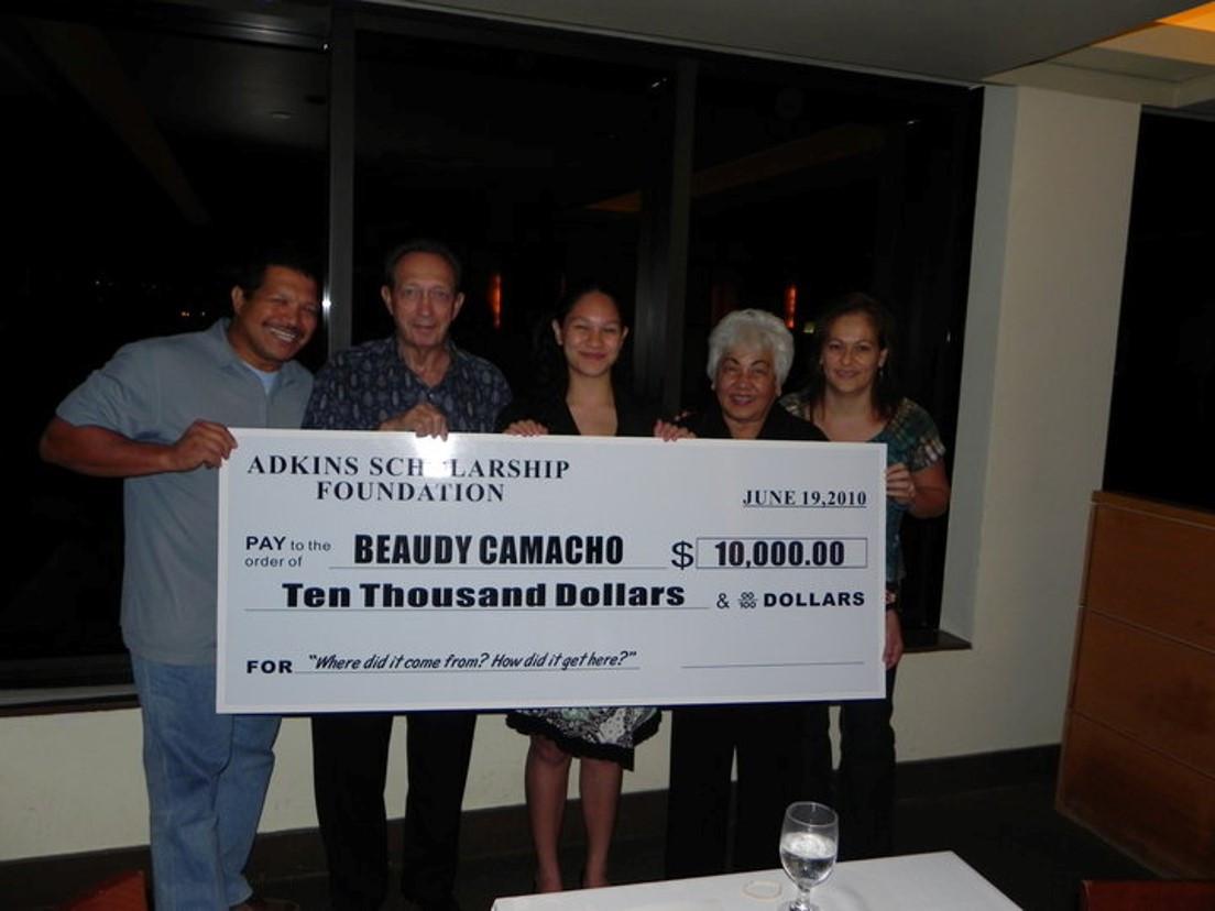 2010 - Adkins Scholarship