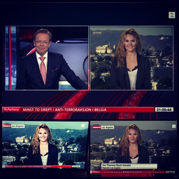 #live on the #news in #norway today talk