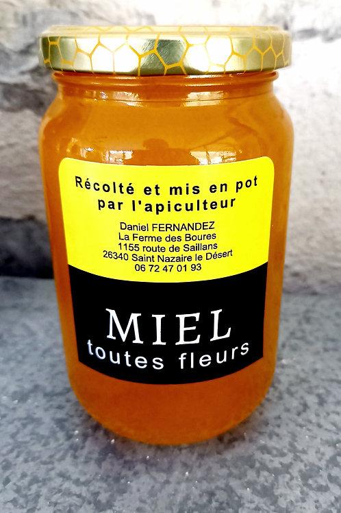 Miel Toutes Fleurs d'été 500g