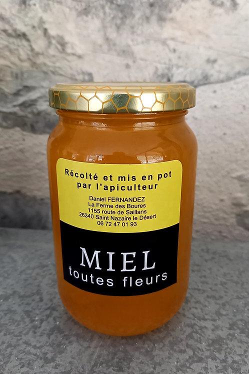 Miel Toutes Fleurs d'été 100g