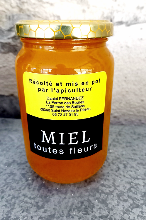 Miel Toutes Fleurs d'été 160g