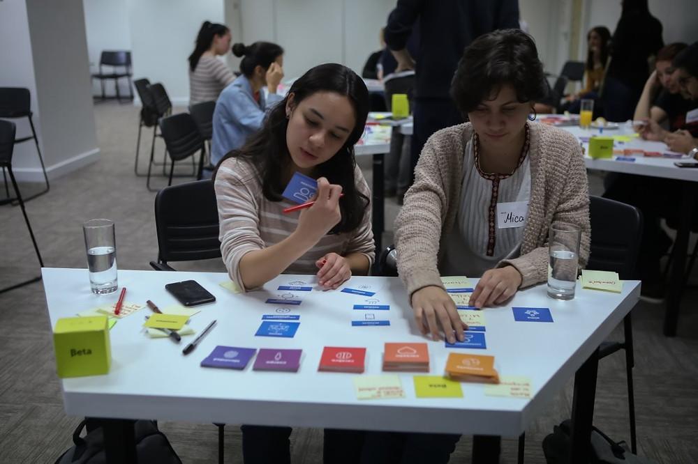 Foto de un taller presencial en Asunción, Paraguay
