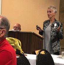 Sue Vogel, retired educator