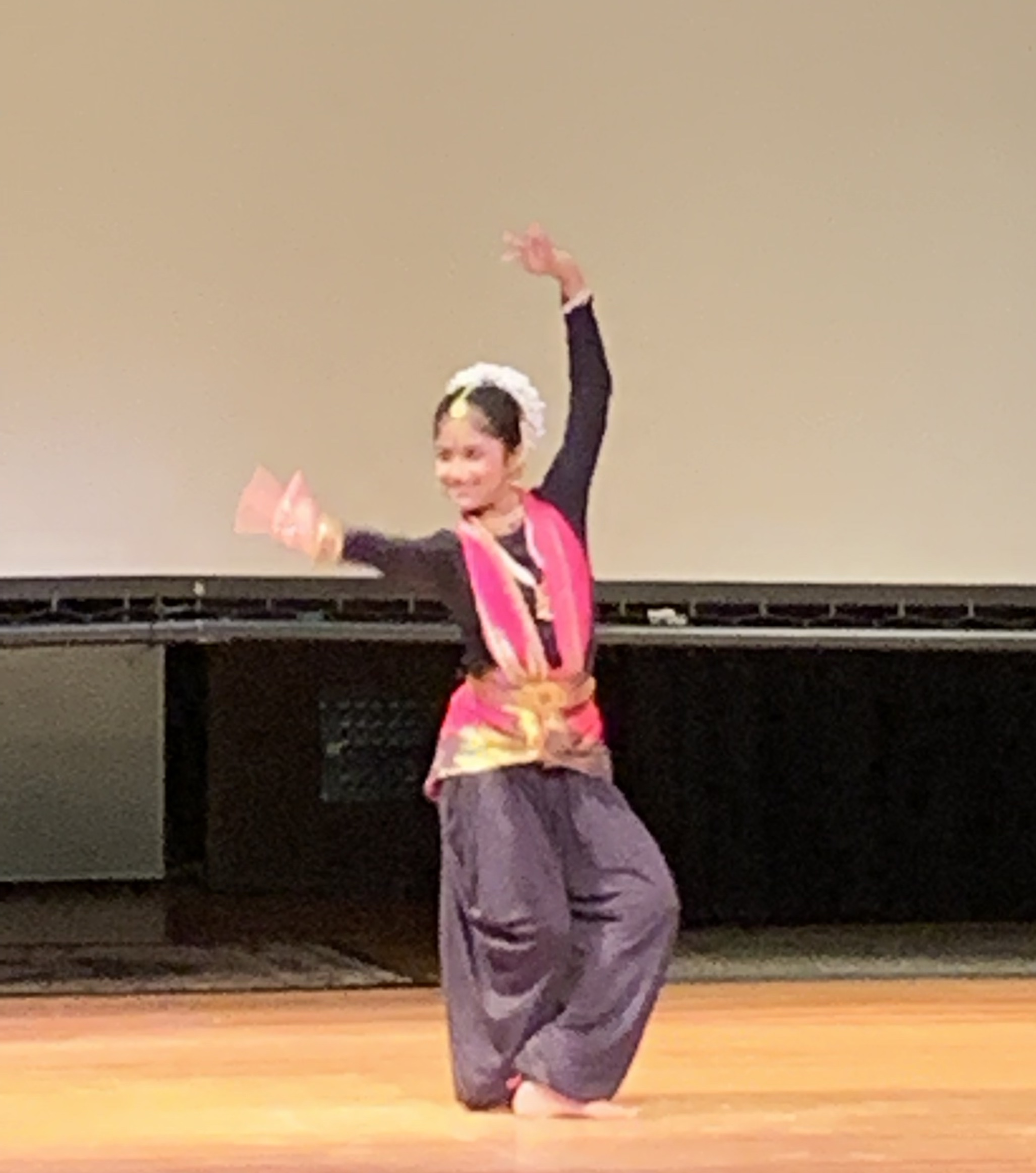 Contemporary Indian Dancer Shreeya
