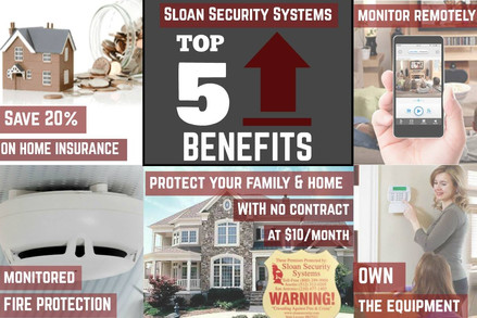 THE BENEFITS OF A SECURITY SYSTEM