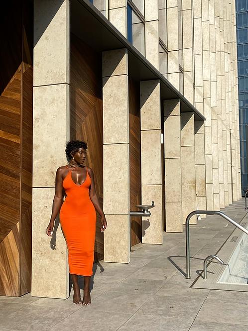 Orange Lucy Dress