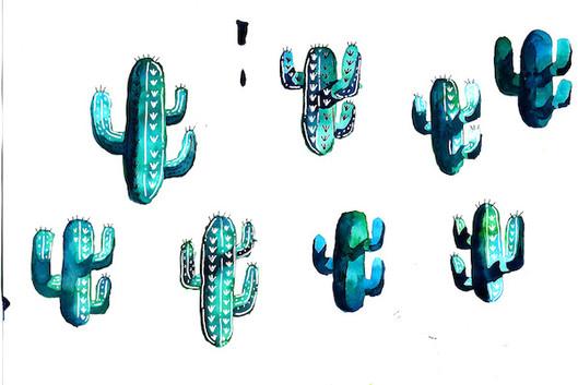 Photoshopped Cacti