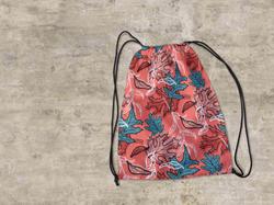 Leaves Drawstring Bag