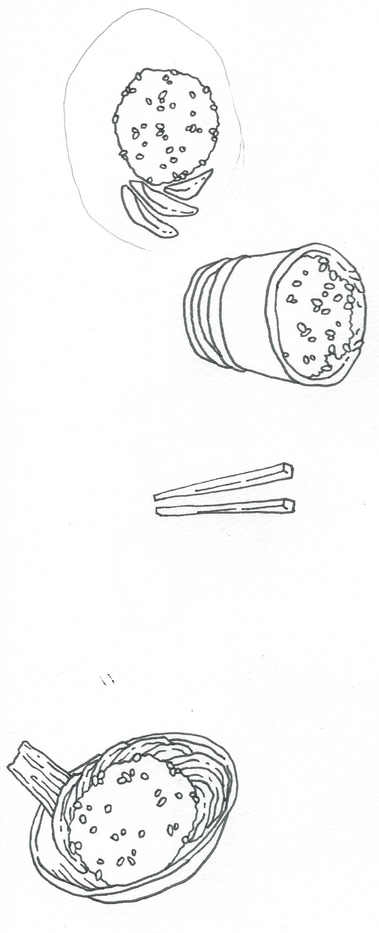 Sticky Rice Sketches