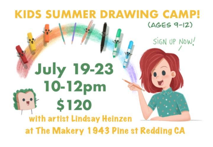 Kids Summer Drawing Camp