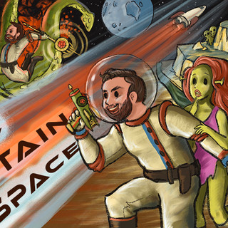 Space Captain Space Youtube Banner