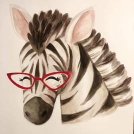 Spectacle Zebra