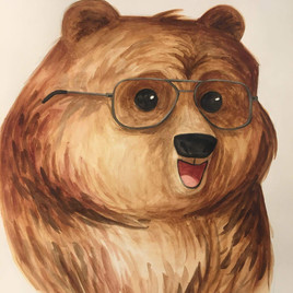 Spectacle Bear