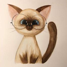 Spectacle Cat