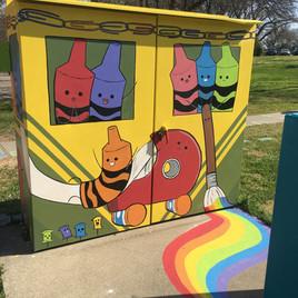 Elementary School Mural 2019