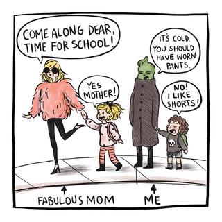 Grinch Mom