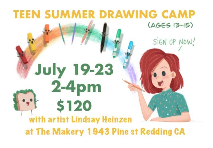 Teen Summer Drawing Class