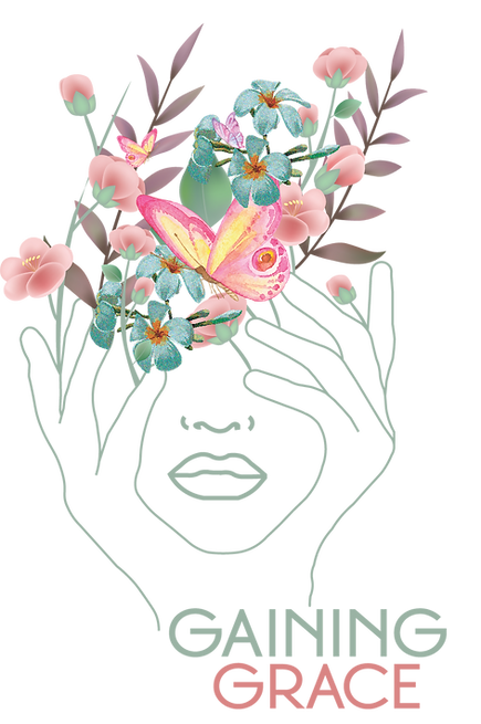 Flowers coming out of a girl's head illustrating Anxiety Therapy in New Jersey