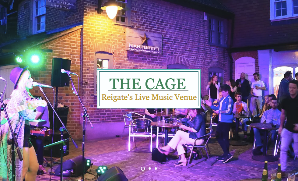 Live Music The Cage Reigate