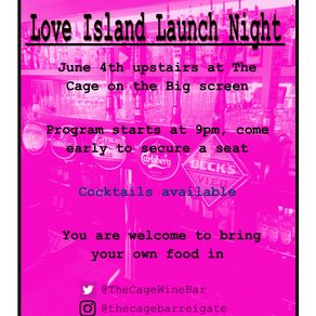 Love Island Launch Night | Upstairs at The Cage