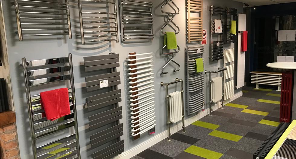 Radiator Shop Showroom Northern Ireland